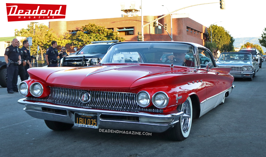 Ruben cruised out his '60 Buick.