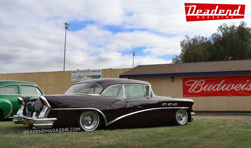 Nice Buick sitting low on wires.