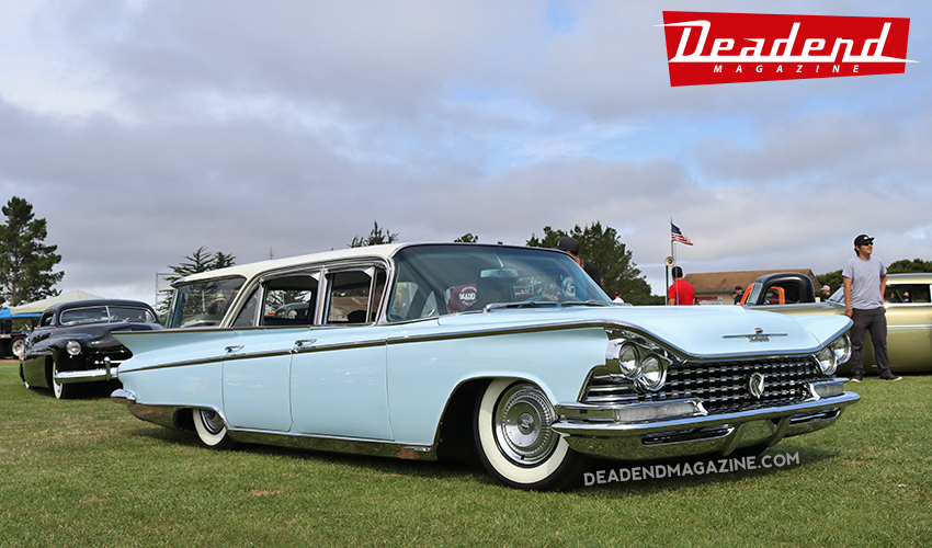 Dennis' '59 Buick wagon took home the Deadend Magazine Japan pick. Such a cool wagon.