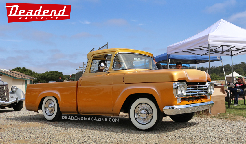 Reno Bilt's Ford pick-up took home the Calaveras Rods & Customs pick. Reno started this truck when he was a teenager.