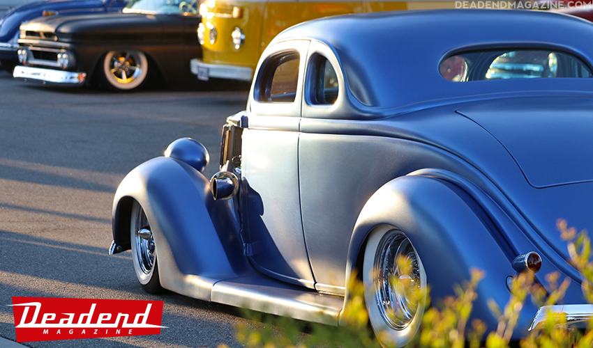 Richie's custom 36 Ford.