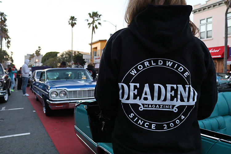 Thanks to everyone reppin' Deadend Magazine out in the streets.