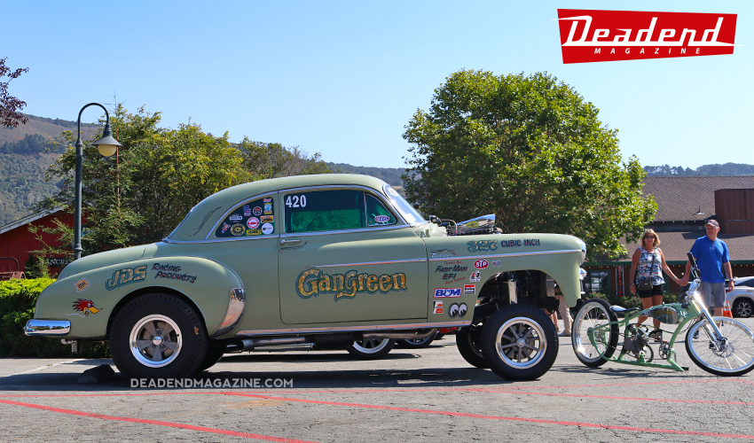 Nice gasser posted up front.