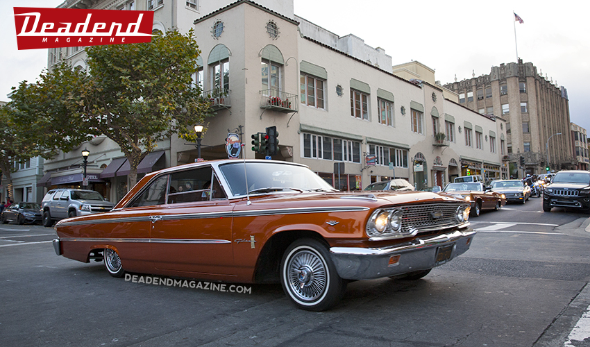 Cool Galaxie cruisin' Alvarado.