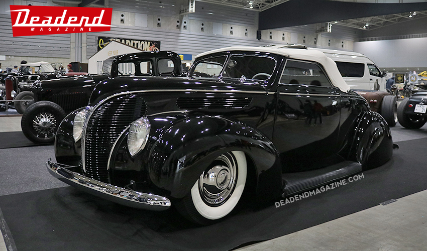 Art's Body had some nice rides on display. Including the Kozera '38 tribute.