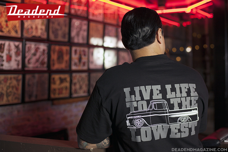 Live Life To The Lowest t-shirt will be available very soon.