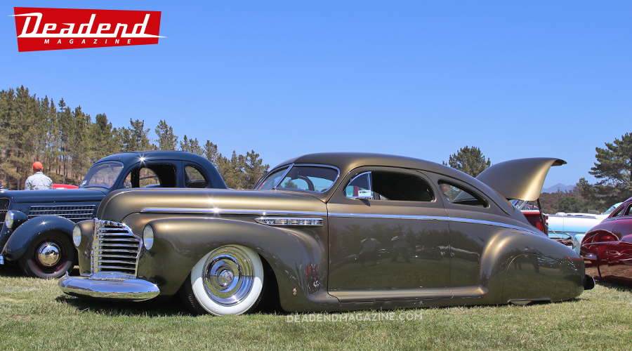 This year's Deadend Magazine pick went to Cliff Mattis' custom '41 Buick better known as Dillinger.