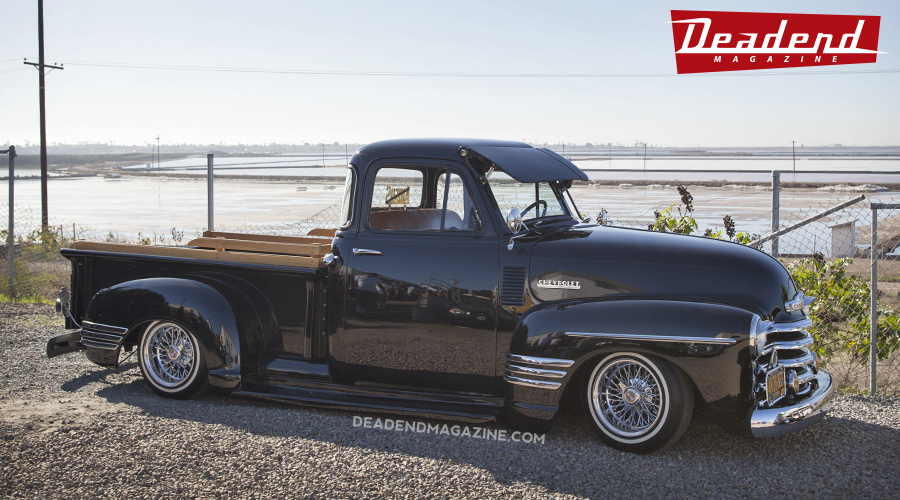 """This beautiful Chevy truck was awarded the """"Best Low Rider"""" pick."""