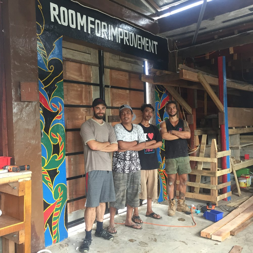 Room for Improvement - Upcycling workshop -