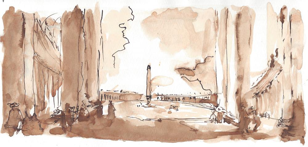 Obelisk at the Vatican