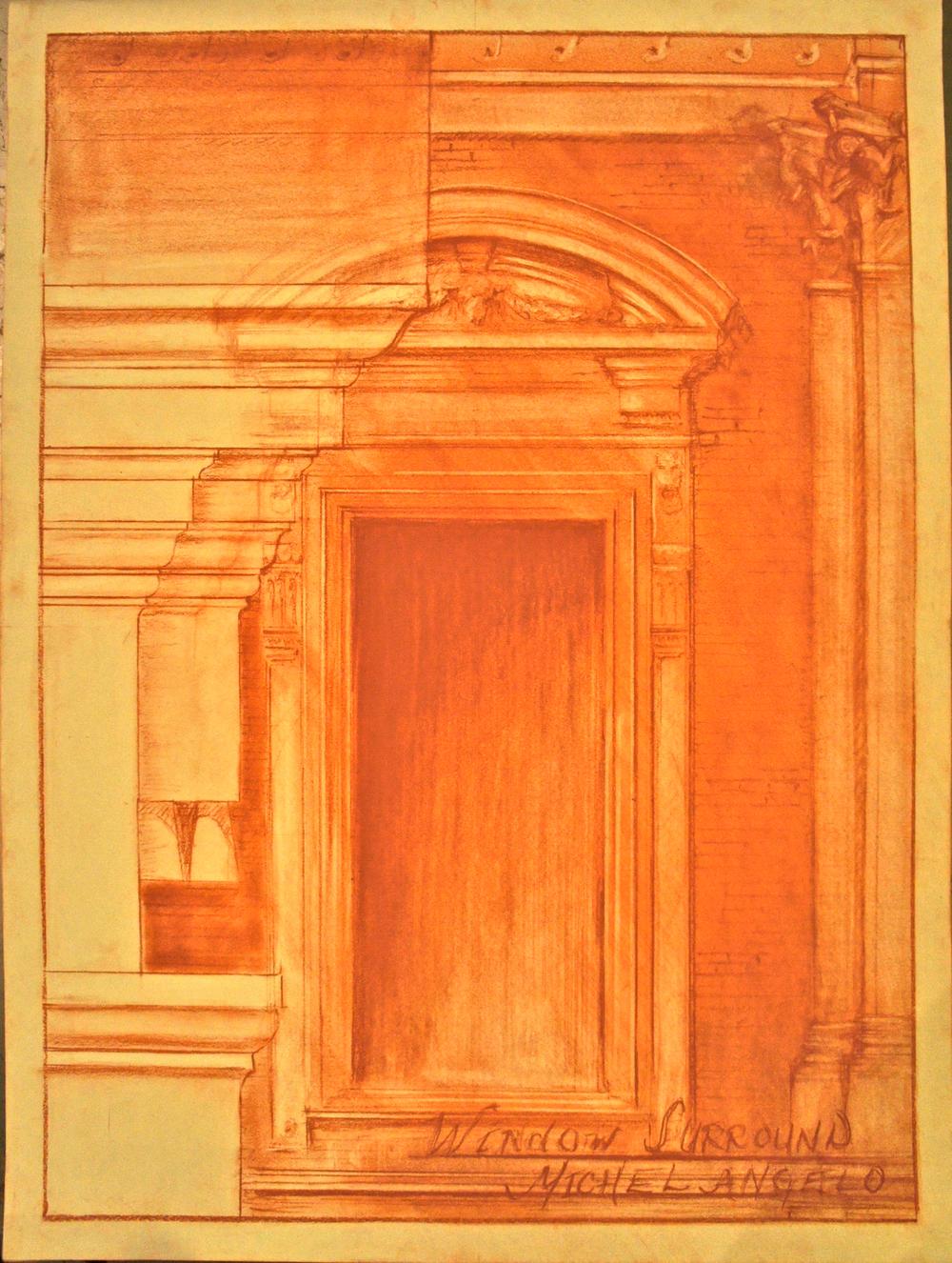 Michelangelo Door Frame