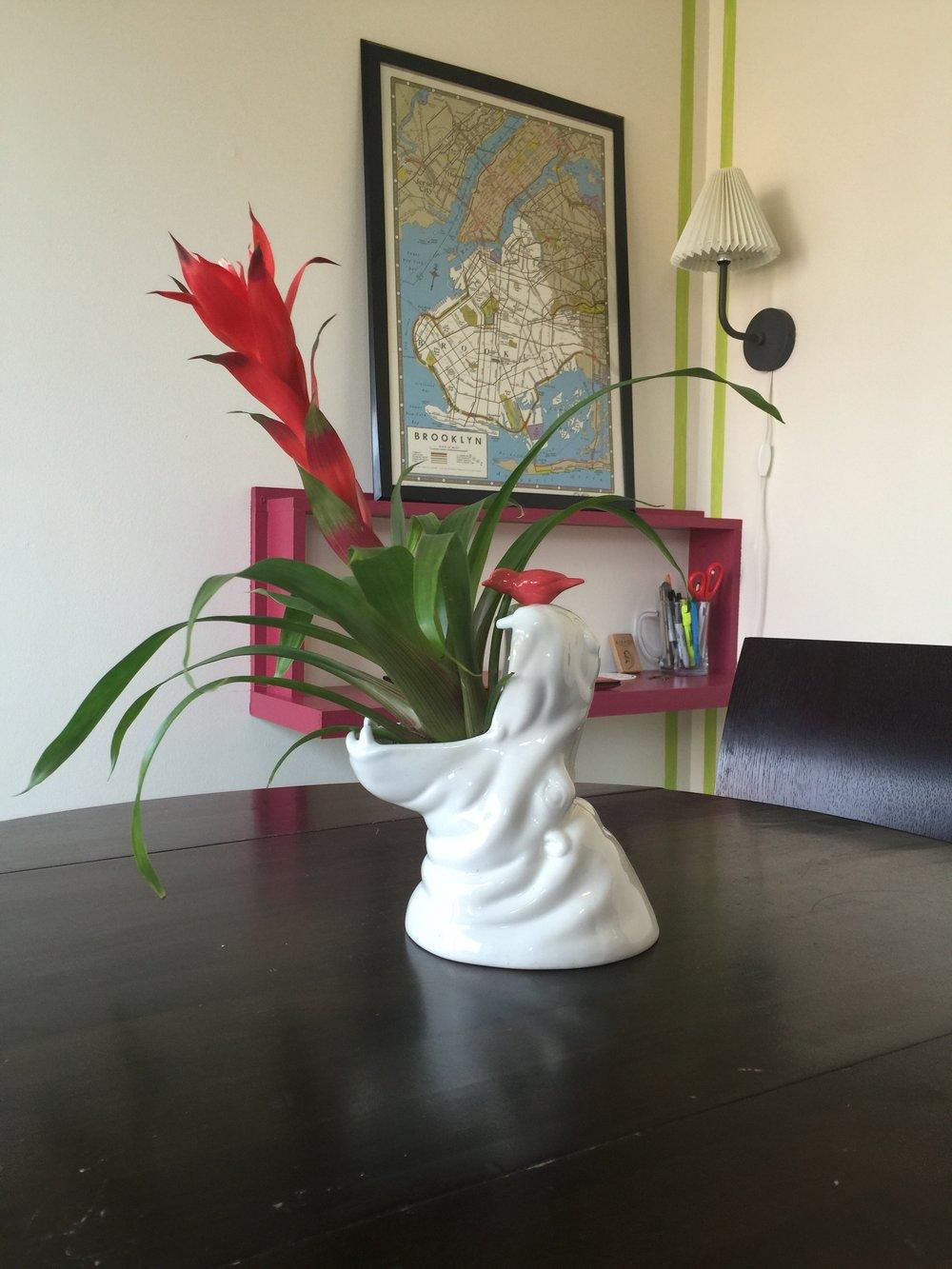 Hippo Vase