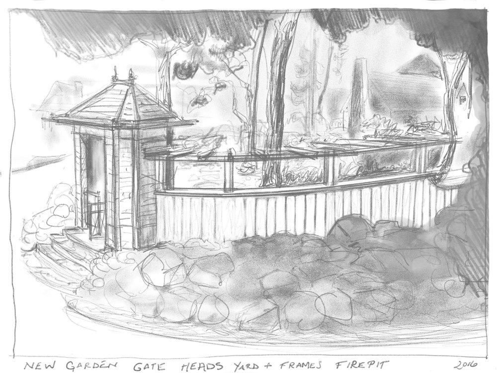 Sketch of a Garden Folly