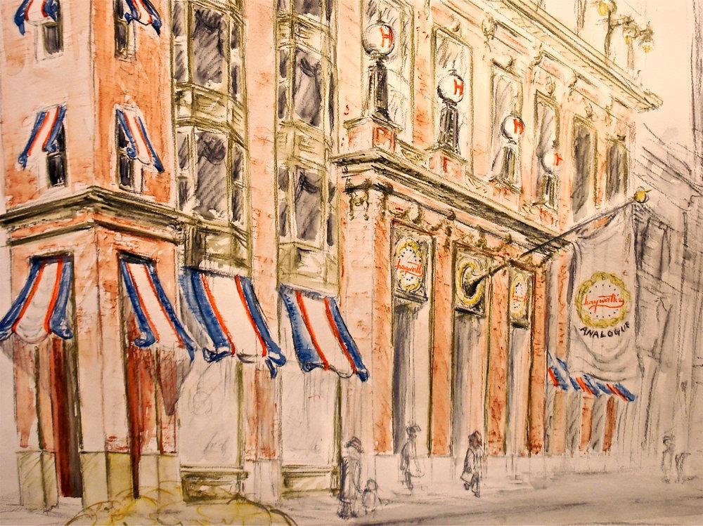 Watercolor Pencil - Retail design scheme