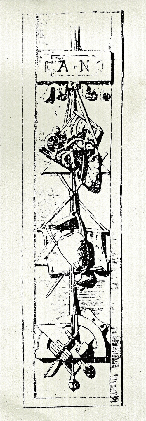 Silkscreen Print, Ancient Symbol