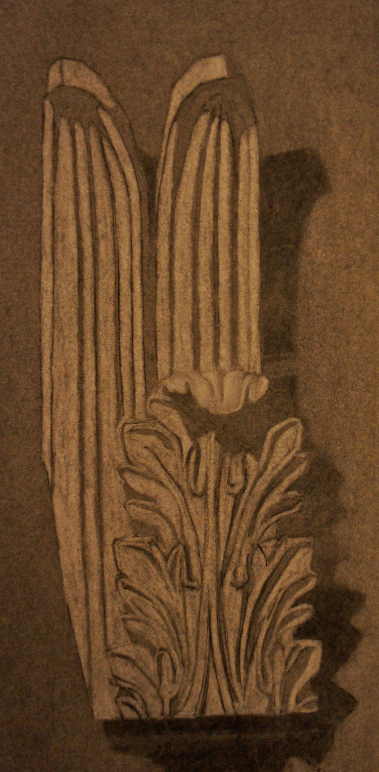 Charcoal, Tower of The Winds Fragment