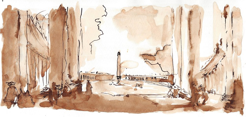 Inspired by Italy, a collection of pen & ink drawings created in Italy  Starting at $35
