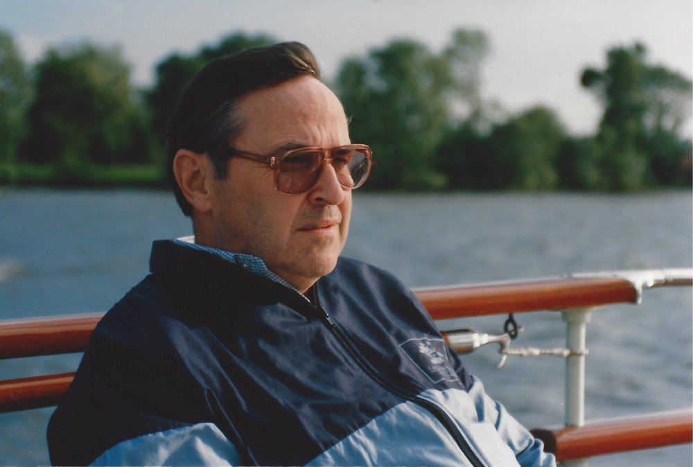 Grandpa on the yacht