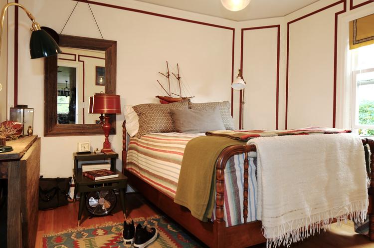 Portland Oregon condo design. Classic American interior. Warm interior design. Daniel House.