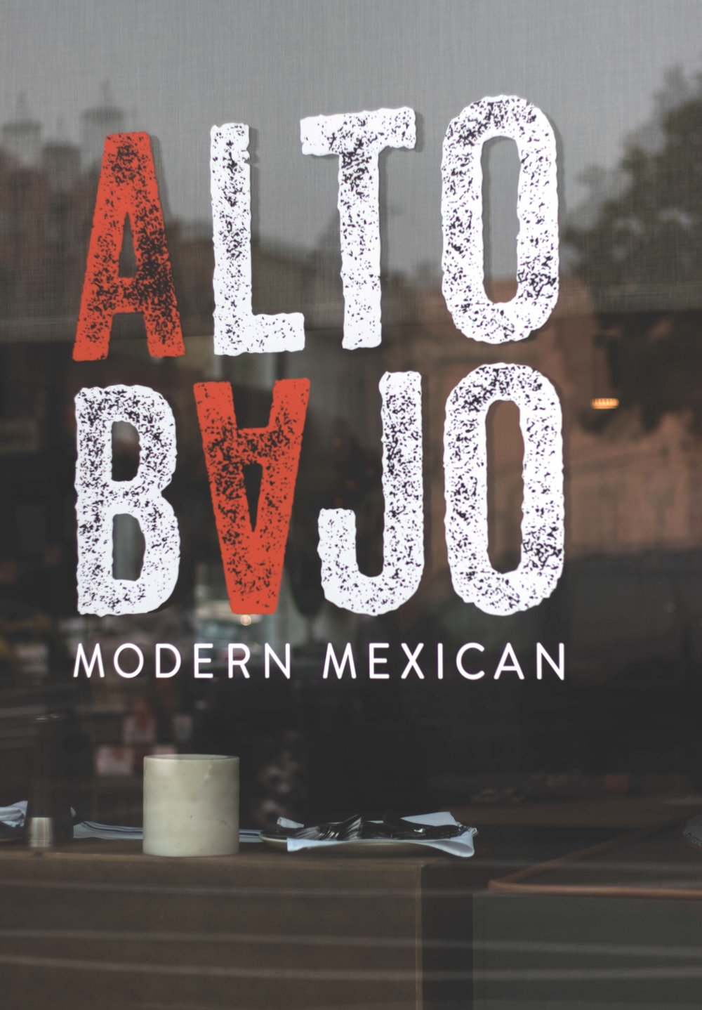 Alto Bajo is a modern Mexican restaurant in Portland. Hi Lo hotel. Daniel House.