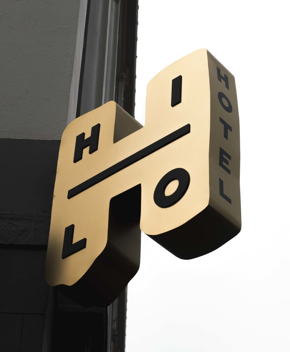 Hi Lo hotel sign. Portland