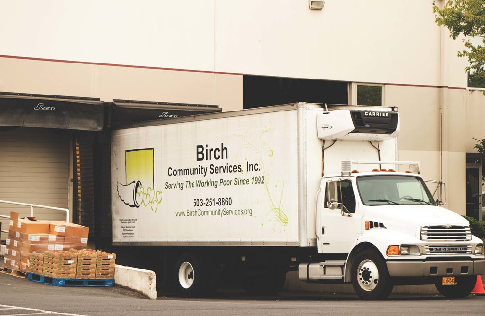 birch community services truck