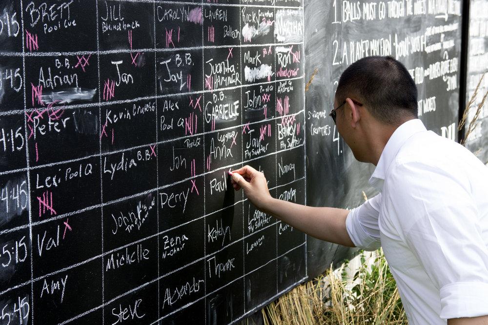 croquet score board
