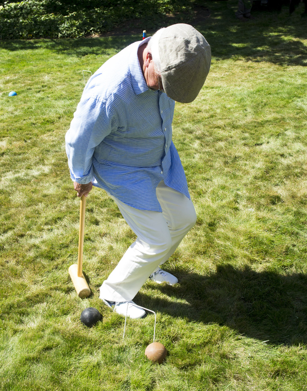 playing croquet with handicaps