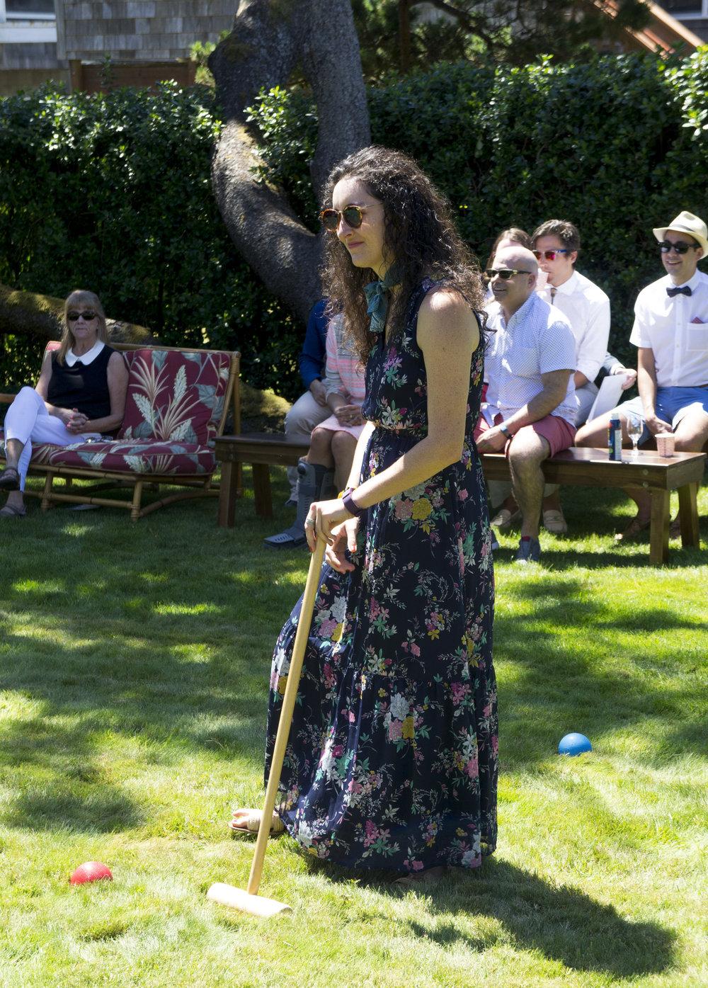 classic croquet attire