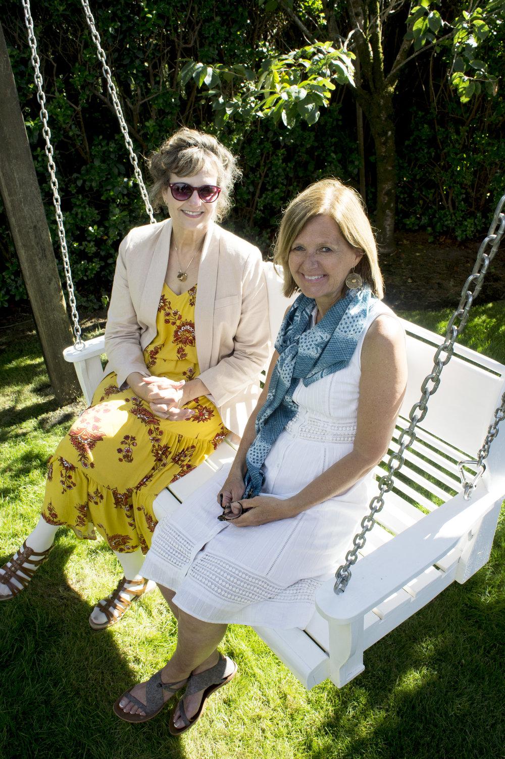 Suzanne Birch & Martha Spalding