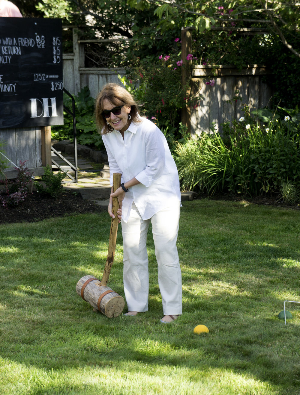 Thor's hammer at the croquet classic