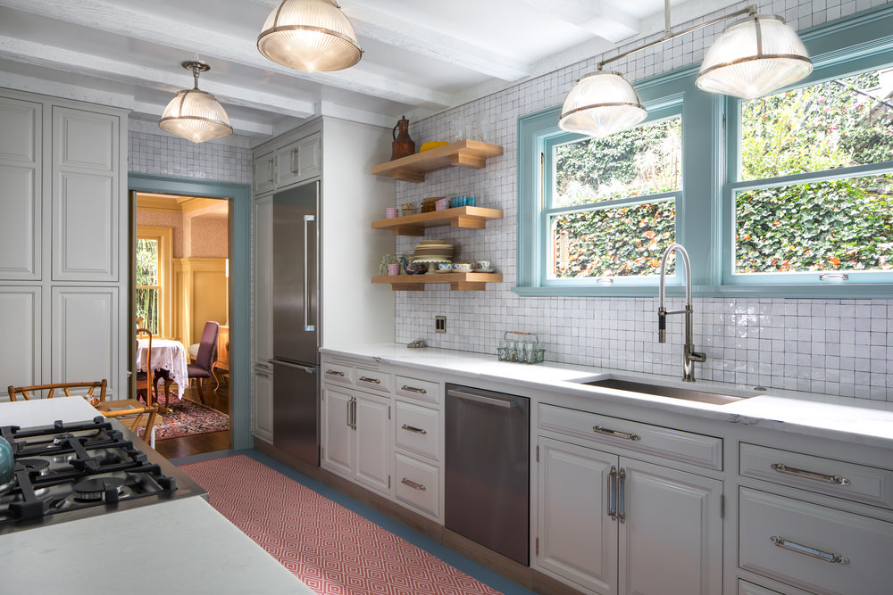 A kitchen in historic portland heights has been given new life.