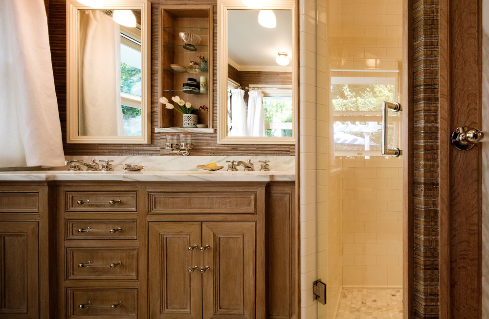 master bathroom historic home portland Oregon