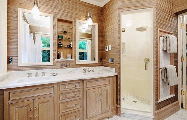 Another favorite bathroom. This master bath makes relaxing effortless!