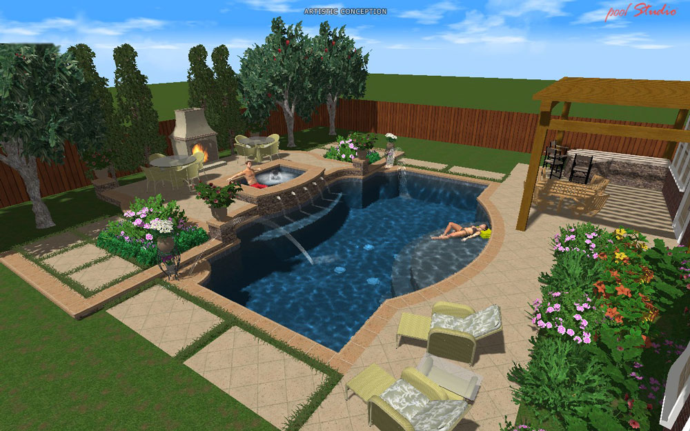 Design Fusion Pool Spa