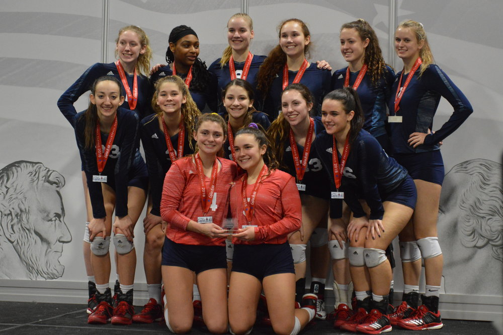 18 Red Goes to Washington. - The Girls 18 Red team came in 2nd overall in the Open division at the 2018 Capitol Hill Classic in Washington D.C.