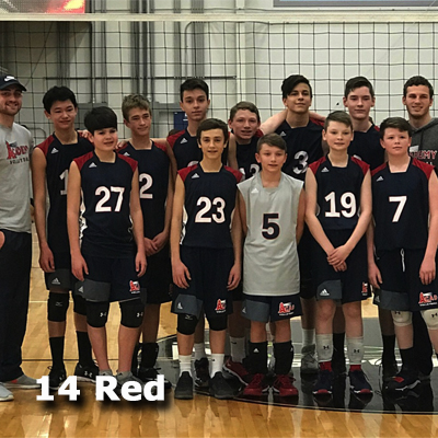 Boys 14 Red Opens with a