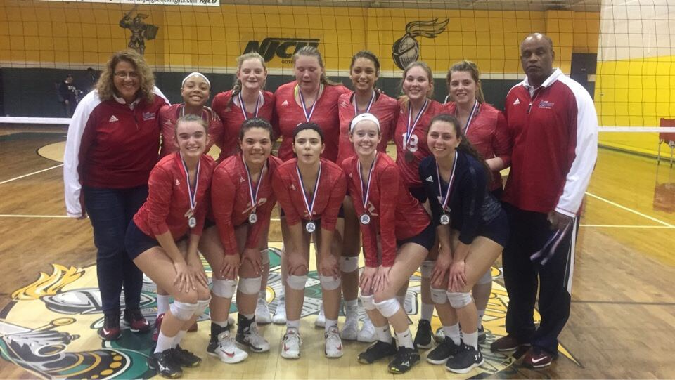 Girls 18 White South wins GEVA tournament. -