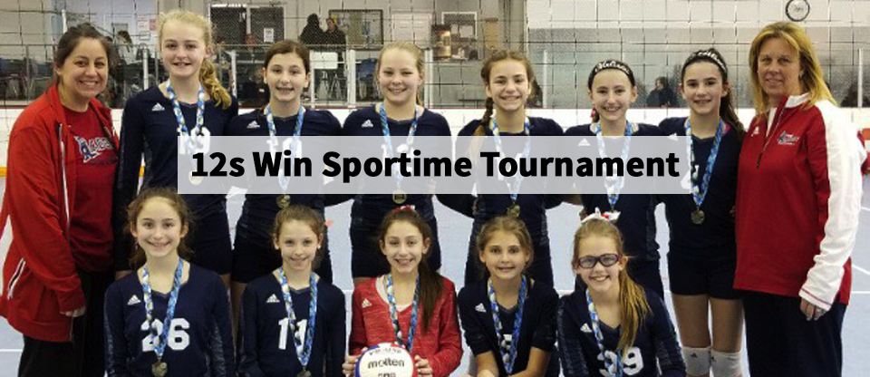 Girls 12s Win Sportime Tournament -