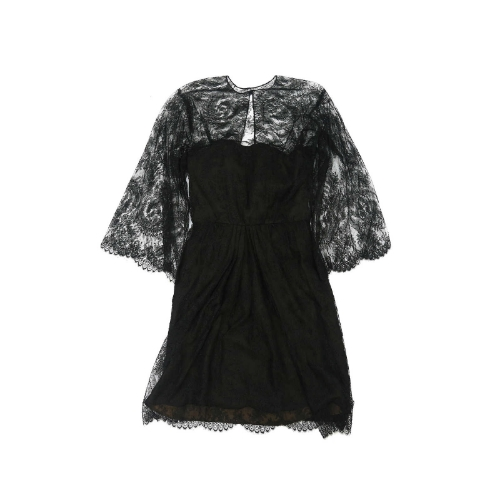 Lace dress by Oscar de la Renta, SGD 850, from  THE FIFTH  COLLECTION