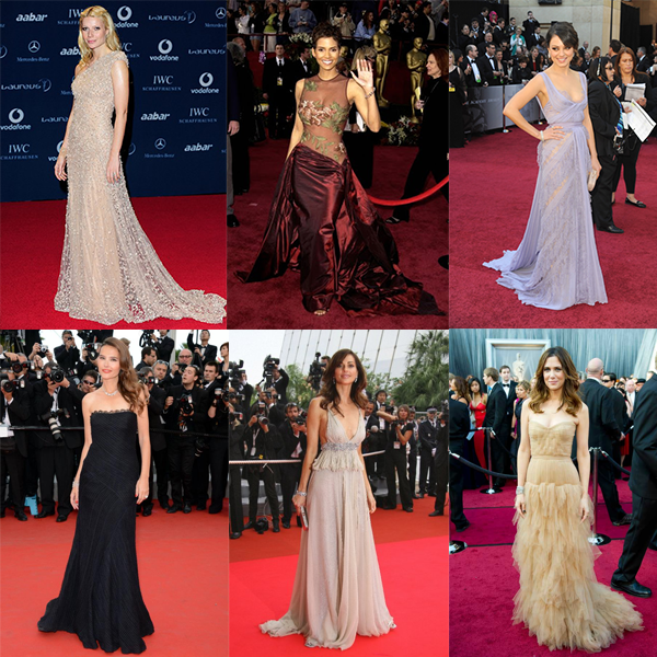 Red carpet darlings in Elie Saab creations include A-list Hollywood celebrities Gwyneth Paltrow, Halle Berry and Mila Kunis.