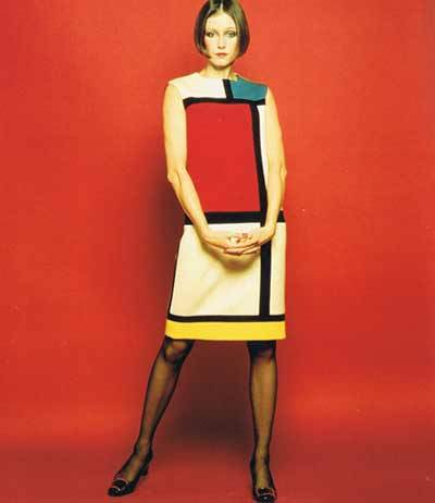 Yves Saint Laurent, Fall Mondrian Collection 1965