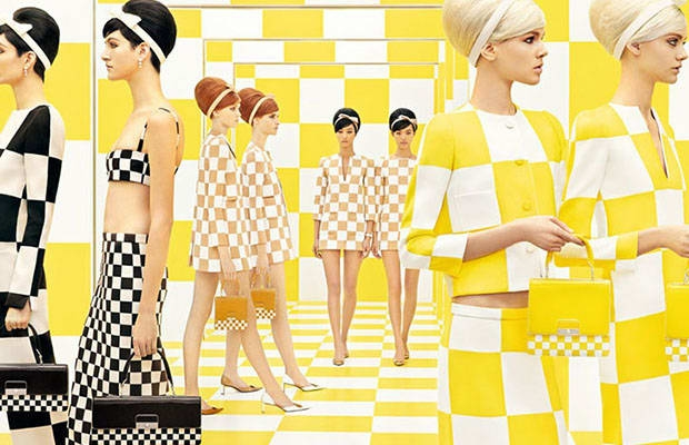 Marc Jacobs for Louis Vuitton X Daniel Buren