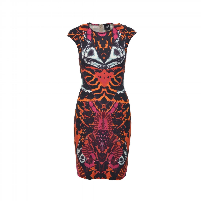 McQ ALEXANDER MCQUEEN Printed Sheath Dress
