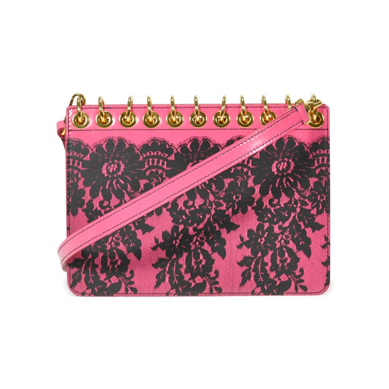 MOSCHINO Book Clutch