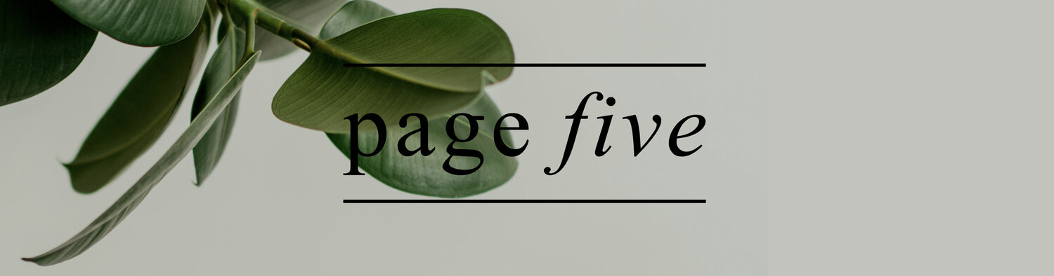 pagefive - The Fifth Collection