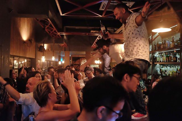 Thank you everyone for coming to party with us. It was truly EPIC! We'll really miss serving up drinks here at Amoy Street, but we absolutely cannot wait till we re-open again at a new location. Please look out for us and keep in touch!! #sugarhallsg #thelastshake #finalpartyatamoy #jiggerandponyfamily
