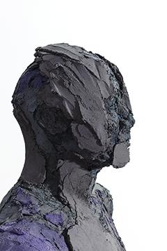 Bust , 2017,   colored concrete