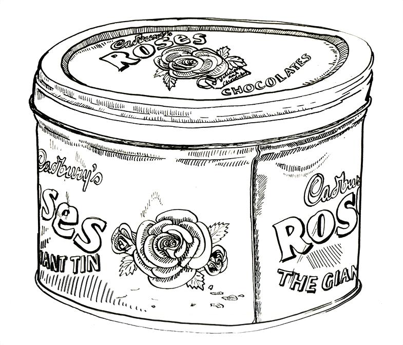 Roses Tin