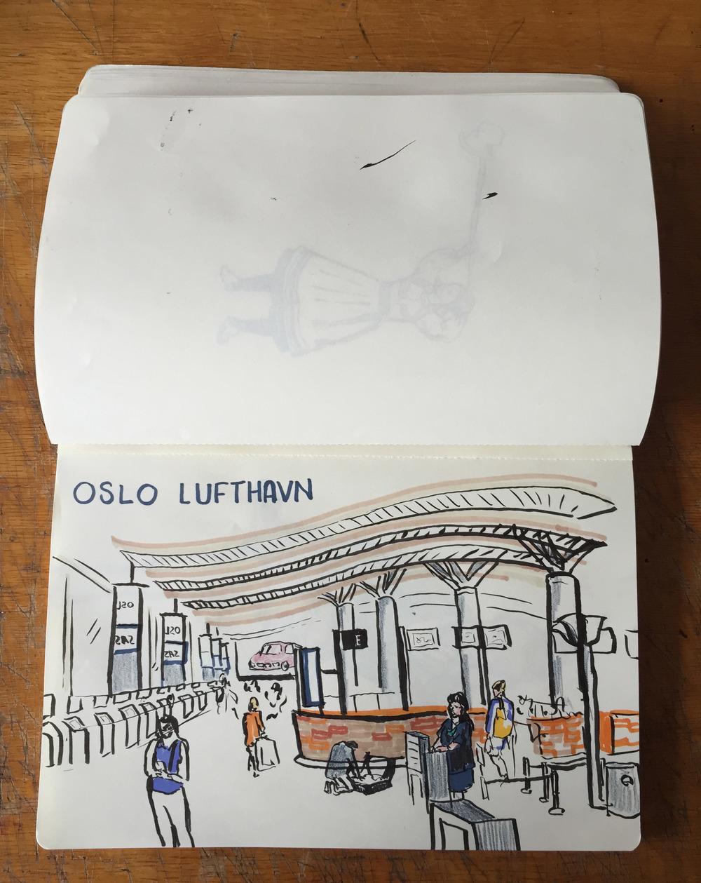 Oslo Lufthavn - Oslo, Norway